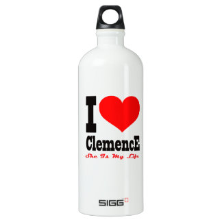 I Love Clemence. She Is My Life SIGG Traveler 1.0L Water Bottle