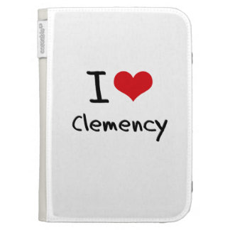 I love Clemency Kindle Cover
