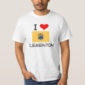 I Love Clementon New Jersey Shirt