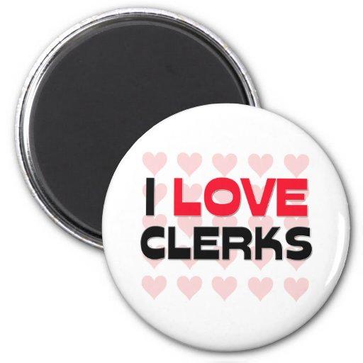 I LOVE CLERKS MAGNET