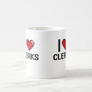 I love Clerks Basic White Mug