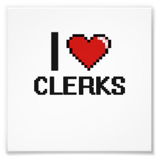I love Clerks Photo Print