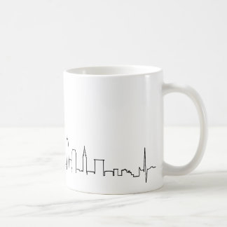 I love Cleveland in an extraordinary ecg style Coffee Mug