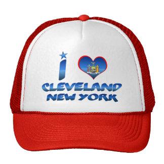 I love Cleveland, New York Trucker Hat