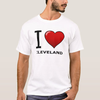 I LOVE CLEVELAND, OH - OHIO T-Shirt