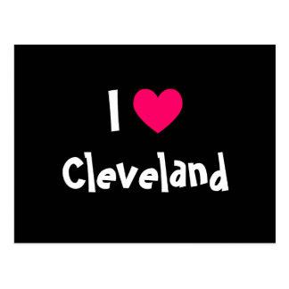 I Love Cleveland Postcard