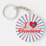 I Love Cleveland, Tennessee Acrylic Key Chain