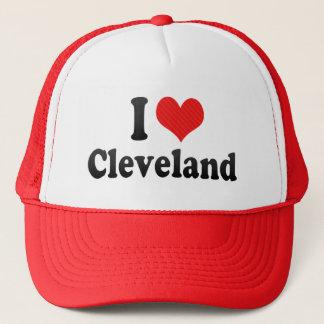 I Love Cleveland Trucker Hat