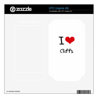 I love Cliffs Decals For HTC Inspire 4G