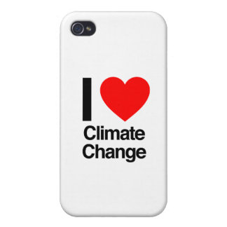 i love climate change iPhone 4/4S cases