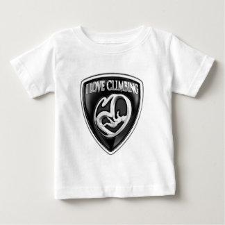 i love climbing baby T-Shirt