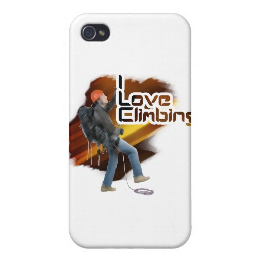 I Love Climbing Epic Case For iPhone 4