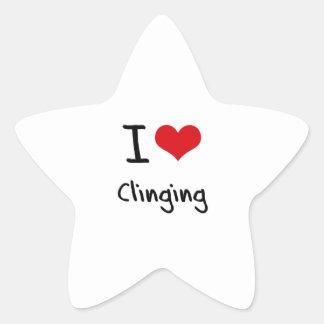I love Clinging Sticker