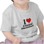I Love Clinical Dietitians Tee Shirt