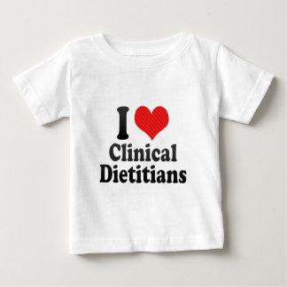 I Love Clinical Dietitians Shirts