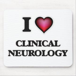 I Love Clinical Neurology Mouse Pad