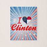 I Love Clinton, North Carolina Puzzle