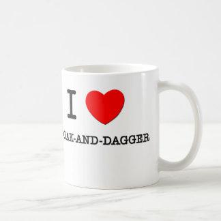 I Love Cloak-And-Dagger Coffee Mug