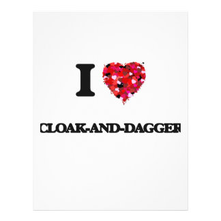 "I love Cloak-And-Dagger 8.5"" X 11"" Flyer"