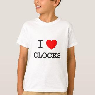 I LOVE CLOCKS T-Shirt