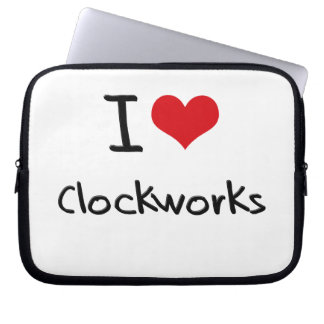 I love Clockworks Laptop Sleeve