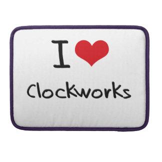 I love Clockworks Sleeve For MacBook Pro