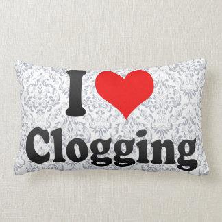 I love Clogging Lumbar Pillow