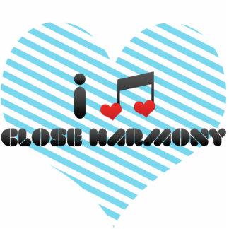 I Love Close Harmony Photo Cutout
