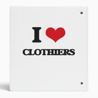 I love Clothiers Binders