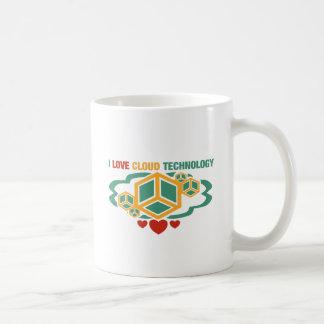 I Love Cloud Technology Coffee Mug