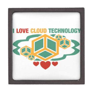I Love Cloud Technology Gift Box