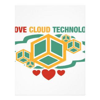 I Love Cloud Technology Letterhead