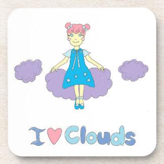 I Love Clouds Coaster
