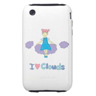 I Love Clouds iPhone 3 Tough Cases