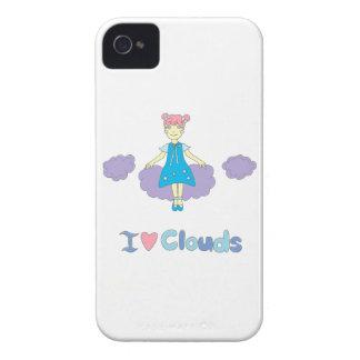 I Love Clouds iPhone 4 Cover