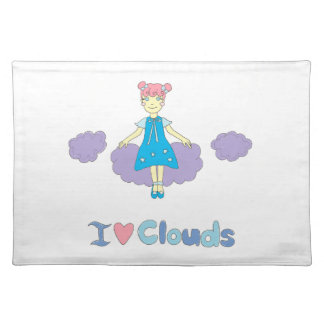 I Love Clouds Placemat