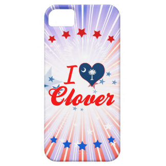 I Love Clover, South Carolina iPhone 5 Covers
