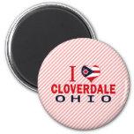 I love Cloverdale, Ohio Fridge Magnets