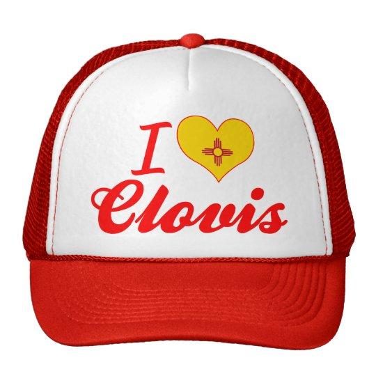 I Love Clovis, New Mexico Trucker Hat