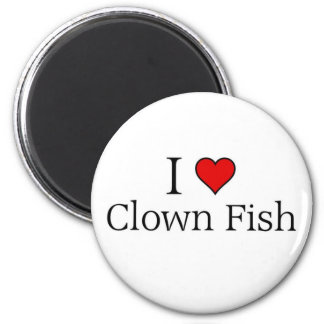 I love clown fish magnet