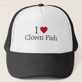 I love clown fish trucker hat