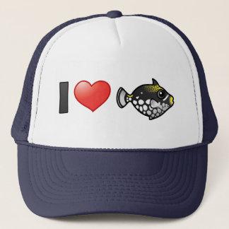 I Love Clown Triggerfish Trucker Hat