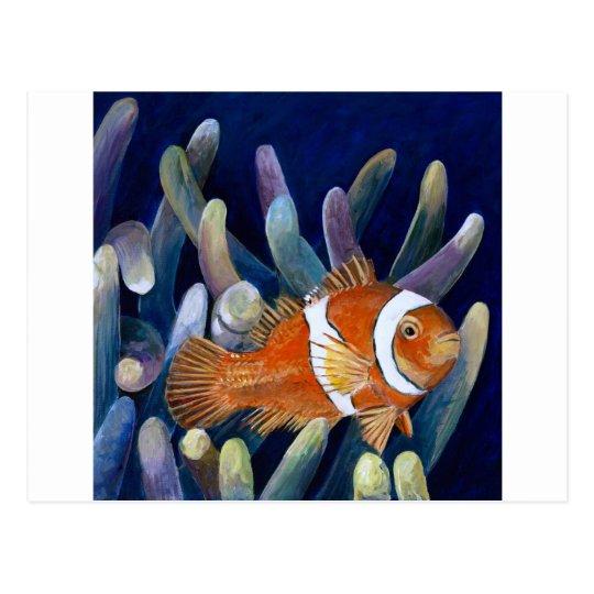 I love clownfish postcard