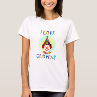 I Love Clowns T-Shirt
