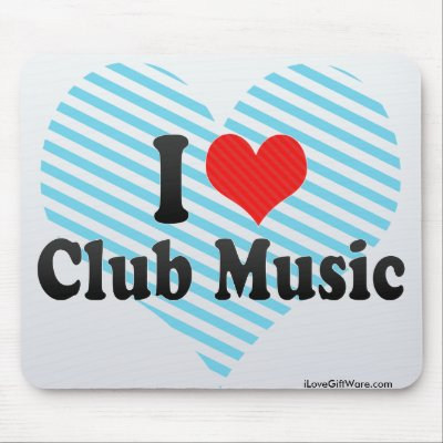 i love club music mousepads from zazzle love club 400x400