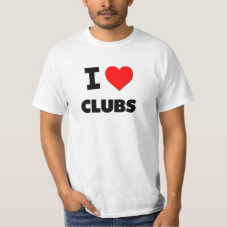 I love Clubs Shirt