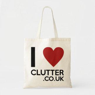 'I Love Clutter.co.uk' Bag