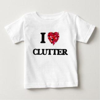 I love Clutter Tee Shirt