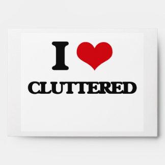 I love Cluttered Envelopes