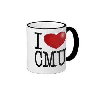 i love cmu ringer coffee mug